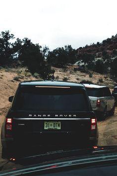 own a black range rover
