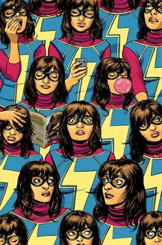 MS. MARVEL #5 G. WILLOW WILSON (W) • NICO LEON (A) Cover by David Lopez