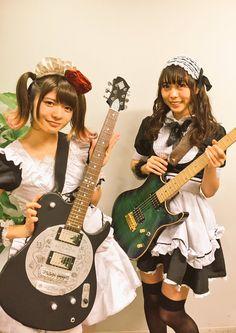 Kobato Miku + Tono Kanami Band-Maid