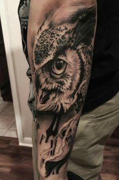 cc7b9d20d 16 Best Owl Tattoo's images in 2018 | Awesome tattoos, Cool tattoos ...