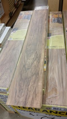 Traffic Master Lakeshore Pecan Laminate flooring. Going into my entire house! Can't wait!