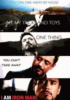 I am Iron Man!