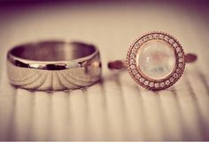 gorgeous moonstone and diamond rose gold engagement ring
