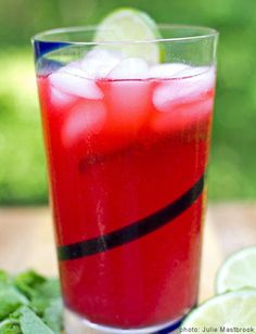 pantry frozen fruit recipe raspberry lime and mint smoothie lime mint ...