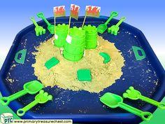 Wales - Saint David's Day - Dydd Santes Dwynwen – Castles – Welsh Flag Themed Sand Multi-sensory Tuff Tray Ideas and Activities Multi Sensory, Sensory Play, Welsh Gifts, Saint David's Day, Tuff Spot, Tuff Tray, Eyfs, Role Play, Castles