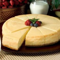 Don& Say Cheesecake! 12 colorful cheesecake recipes that turn this business into ekol, Sweet Desserts, Just Desserts, Sweet Recipes, Delicious Desserts, Dessert Recipes, Yummy Food, Simple Recipes, Tortas Light, Let Them Eat Cake