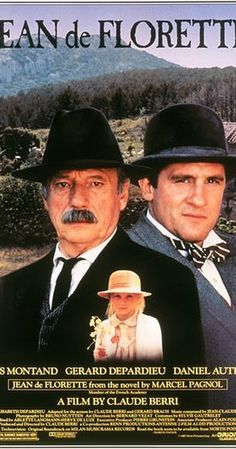 Directed by Claude Berri.  With Yves Montand, Gérard Depardieu, Daniel Auteuil, Elisabeth Depardieu. A greedy landowner and his backward nephew conspire to block the only water source for an adjoining property in order to bankrupt the owner and force him to sell.