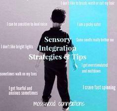 Sensory Integration Strategies and Tips are useful for children with sensory processing disorder.