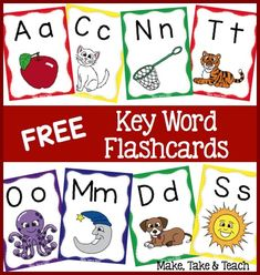 FREE key word flashcards!