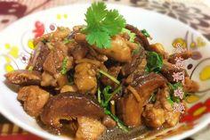 乾冬菇有一種芳香氣味,而鮮冬菇并沒有的。 所以煮起來味道特別香濃。