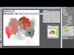 Painter Brush Tricks with Worn Bristle