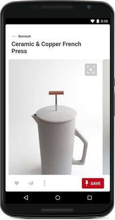 Ceramic & Copper Collection Copper French Press, Kids Room, Child Room, Coffee Maker, Ceramics, Barbers, Stuff To Buy, Shopping, Business