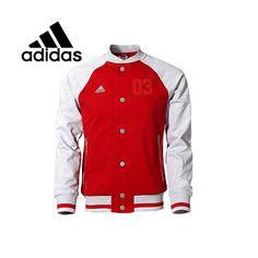 Barato Jaqueta dos homens originais Adidas A95541 primavera Sportswear frete grátis, Compro Qualidade Bowling jaquetas diretamente de fornecedores da China: