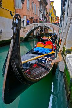 Visiting Venice without at least once taking a ride through the canals in a gondola is like going to New York without ascending the Empire State Building.