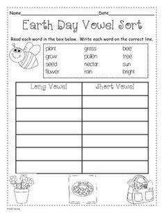 Earth Day Activities Bundle Online classroom Reading