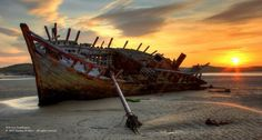 Embedded image permalink Boat at sunset