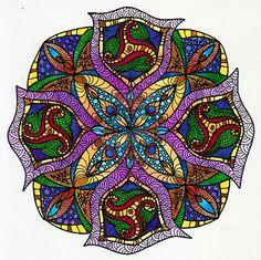 August Mandala 2 by Artwyrd on deviantART