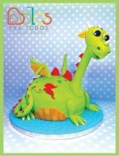 Bolo Dragão Mimoso - Bolos Pra Todos bolospratodos@gmail.com