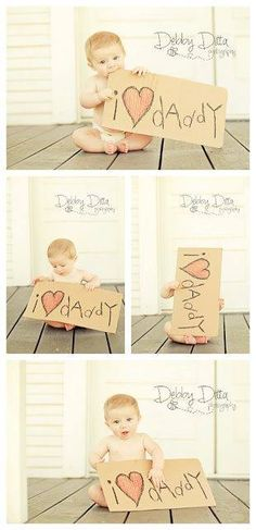 Cute Father's Day photoshoot.