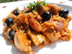 Sauté de poulet à l'espagnole