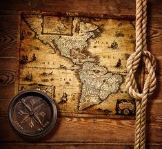 Fotografías de mapas antiguos