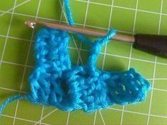 Häkelanleitung, häkeln leicht gemacht mit Muster, komplette Anleitung für ein Kissen oder Schal