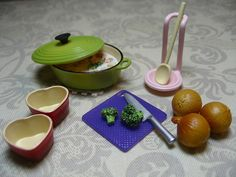 Re-ment Veggie Soup Set by siouxsiette, via Flickr