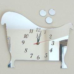 small bathroom clocks. 17 Inspiring Small Bathroom Clocks Foto Ideas bathroom clocks