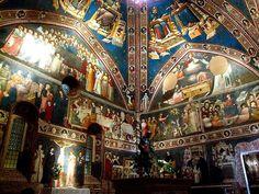 La Basilica di San Nicola da Tolentino, a Tolentino nelle Marche, ospita alcuni tra i più interessanti affreschi del Trecento. Ce ne parla Valentina Appolloni.