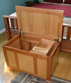 Your place to buy and sell all things handmade Diy Furniture Projects, Home Projects, Woodworking Projects, Dresser Plans, Veneer Panels, Bookshelf Plans, Blanket Chest, Wood Plans, Hope Chest