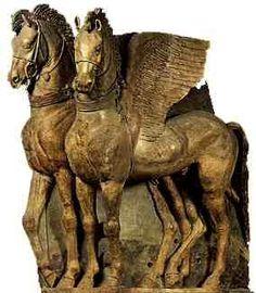 terracotta winged horses temple of tarquinia