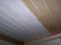 Holzdecke streichen502