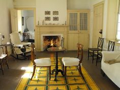 Downstairs Private Parlor in the Ximenez-Fatio House, St. Augustine