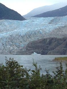 Medenhall glacier in Alaska