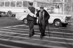 help crossing street