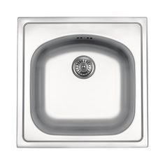 Éviers en acier inoxydable | Éviers de cuisine en acier inoxydable | acier inoxydable Best Stainless Steel Sinks, Undermount Stainless Steel Sink, Stainless Kitchen, Undermount Sink, Kitchen Sinks, Bathroom Sink Faucets, Sinks For Sale, Salsa, Inset Sink