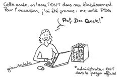 Administrateur ENT, par Gribouilles de doc.