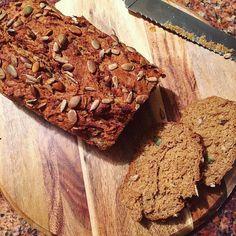 Pumpkin buckwheat banana bread  #baking #glutenfree #vegetarian #vegan #dairyfree #refinedsugarfree #glutenfreebaking #health #wellbeing #fitfood #cake #bananabread by nataliehythompson