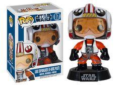 Star Wars POP! Vinyl Wackelkopf-Figur Luke Skywalker (X-Wing Pilot) 9 cm