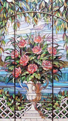 Витраж «Розы» <3