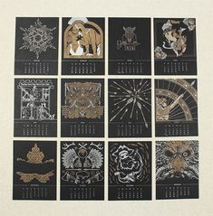 2014 calendar fights for the art of letterpress.