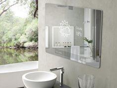 Espelho de casa de banho futurista 2.0