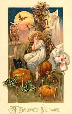 'Hallowe'en Nightmare' (This can be purchased as a poster. Click image to visit website.)