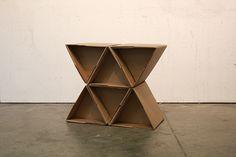 Modular Cardboard Chair on Behance