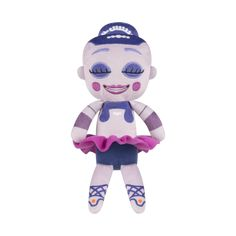 PLUSH: FIVE NIGHTS AT FREDDY'S SISTER LOCATION - BALLORA Collect your favorite characters from the hit game, Five Nights at Freddy's Sister Location, with this 6-inch tall Ballora Plush!