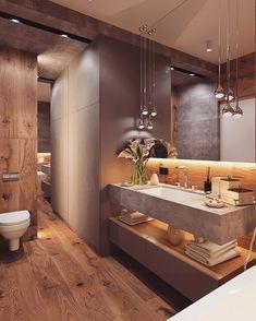 Badezimmer dachgeschoss 47 Tiny House Bathroom Remodel Ideas That Your Home Needs Toile Bedding Arti Bathroom Design Luxury, Modern Bathroom Decor, Modern Bathroom Design, Home Interior Design, Bathroom Designs, Bathroom Design Inspiration, Bad Inspiration, Tiny House Bathroom, Dream Bathrooms