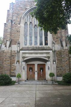 Wedding at Wightman Chapel at Scarritt Bennett  Nashville, TN www.byheartandhand.com