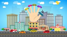 Finger Family | Car Finger Family | Cars Finger Family Nursery Rhymes