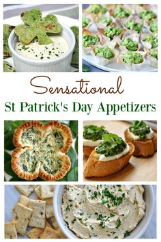If you are planning a St Patrick's day celebration, the chances are you are looking for some amazing food to serve. It will be easy to organize that special event using this selection of St Patrick's day appetizers. Each morsel will satisfy the tastebuds, St Patrick's Day Appetizers, Appetizer Recipes, Delicious Appetizers, Irish Appetizers, Easter Appetizers, Appetizer Ideas, Dinner Recipes, St Patrick Day Snacks, St Patricks Day Food
