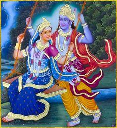 Radha and Krishna Radha Krishna Love Quotes, Radha Krishna Pictures, Krishna Images, Jai Shree Krishna, Krishna Radha, Lord Krishna, Indian Gods, Indian Art, Radha Krishna Wallpaper